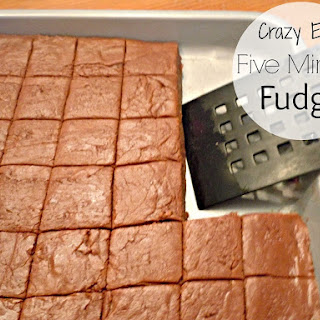 {Crazy Easy} Five Minute Fudge