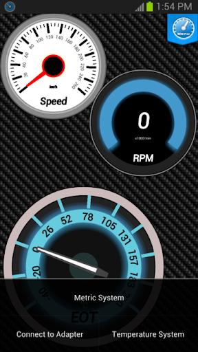Digi-Gauges (OBD 2 & Car) - screenshot