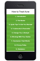 Screenshot of Acne Attack Natural Remedies