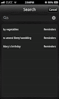 Screenshot of Espier Reminders