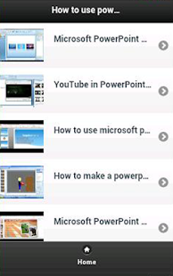 How to use powerpoint - screenshot