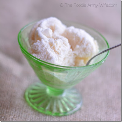 Vanilla Bean Honey Ice Cream | #SundaySupper