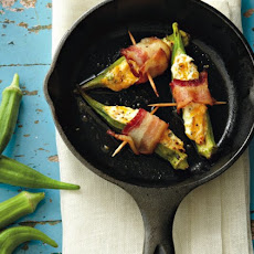Cheese And Bacon Okra Poppers Recipe