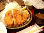 【渋谷ランチ】とんかつ定食(黒ぶたちんとん)