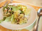 【渋谷ランチ】前菜のサラダ(コラッジオ)