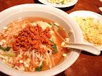 【渋谷ランチ】坦々麺とチャーハンのセット(香港ロジ)