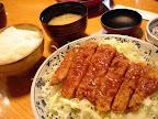 特製ソースかつ定食(蓬莱亭)
