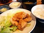 【渋谷ランチ】から揚げネギソースかけ定食(ほの字)