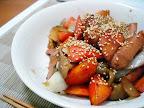 【自炊】ソーセージと野菜の甘酢炒め