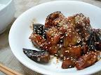 【自炊】豚肉と茄子の辛味噌炒め