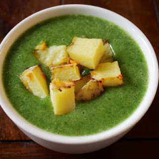 Potato Turnip Spinach Soup