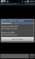 Screenshot of AtrizA Bluetooth Chat