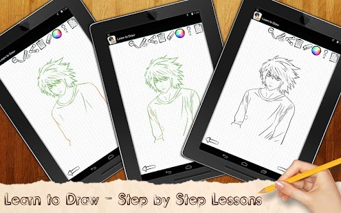 Learn to Draw Death Note - screenshot