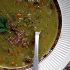 Pea Soup With Bratwurst - Crock-Pot