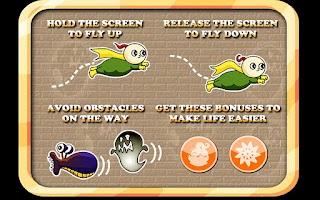 Screenshot of Flying Boy Free