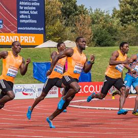 IAAF Diamond League Birmingham - 2014 by Toyin Oshodi - Sports & Fitness Running ( field, prix, grand, track, sport, running )