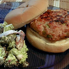 Scallion Sesame Turkey Burger