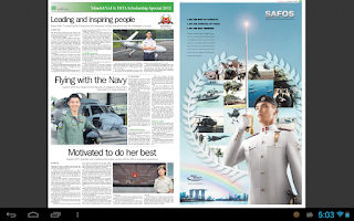 Screenshot of Mindef/ SAF & DSTA Scholarship