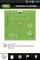 Screenshot of Ejercicios Fútbol Base