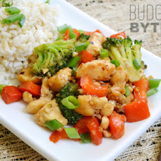 Kung Pao Chicken (and vegetables)