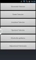 Screenshot of Slovenské a české televízie