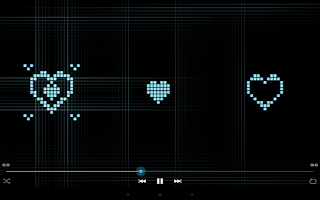 Screenshot of Music Visualizer