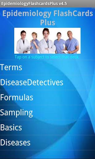 玩醫療App|Epidemiology Flashcards Plus免費|APP試玩