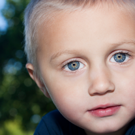 Blue eyed... by Tina Stanley - Babies & Children Child Portraits