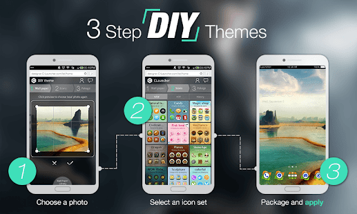 Theme DIY Tool - Amazing Apps - screenshot