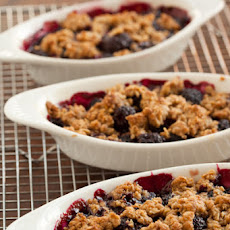 Blackberry Lemon Crisp