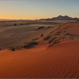 Namibrand Sunrise by Rick Venter - Landscapes Deserts