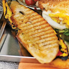 Grilled-Vegetable Panini
