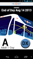 Screenshot of TriMet Tickets