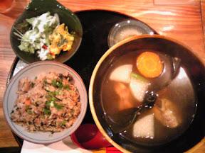 古都首里のソーキ汁定食