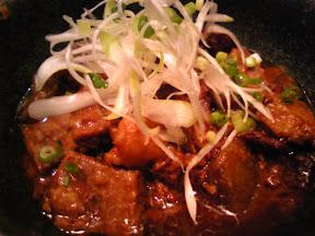 茶番の牛すじ味噌煮込み定食