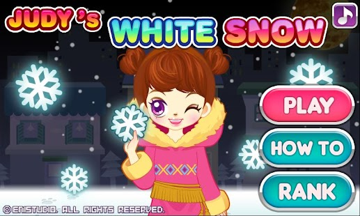 Judy's White Snow-Girls Game