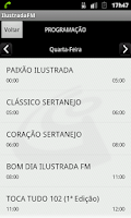 Screenshot of Rádio Ilustrada FM