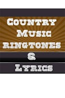Screenshot of Country Music Ringtones Lyrics