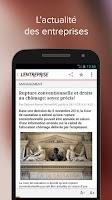 Screenshot of L'Entreprise: info des TPE/PME