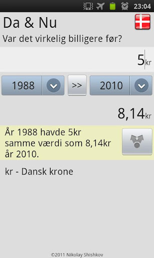 Then Now Danish Inflation