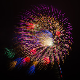 fireworks by Agoez Crieztianto - Abstract Fire & Fireworks (  )