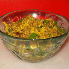 Spicy Mince With Rice & Spinach