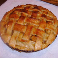 Caramel Topped Apple Pie