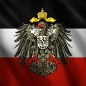 3D German Imperial Flag icon