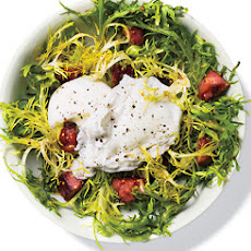 Poached Egg Whites, Turkey Bacon Salad