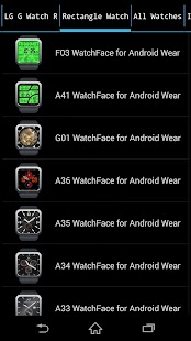 WatchFace Shop for AndroidWear - screenshot