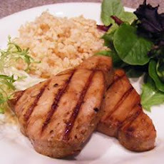 Barbecued Teriyaki Tuna Steaks