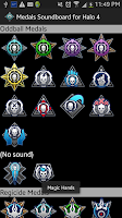 Screenshot of Medals Soundboard for Halo 4
