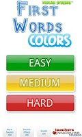 Screenshot of First Words Colors!