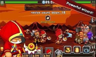 Screenshot of Sparta:Avengers wars